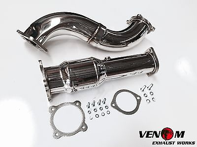 "VENOM FG TURBO 4"" DUMP PIPE & CAT - Ford FG FGX XR6 Turbo F6 Ford FPV Exhaust"