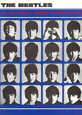 THE BEATLES SONGBOOK Partitions A HARD DAY'S NIGHT 1992 WISE PUBLICATIONS