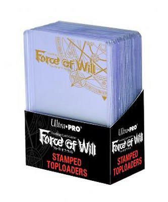 "Ultra Pro Force Of Will Stamped Toploader Holds 2½"" x 3½"" Cards"