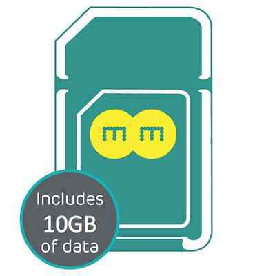 EE 4G Pay As You Go PAYG Trio SIM Card Preloaded With 10GB Data for 30 Days