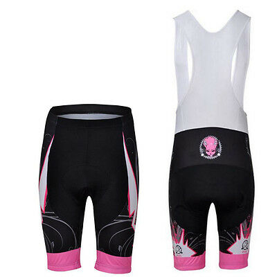 3b3a646292b CHEJI Women s Cycling Bib Shorts Compression Padded Ladies Bike Shorts Bibs