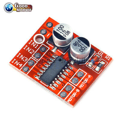 1.5A Dual Channel DC Motor Driver Module PWM Speed Dual H-Bridge Stepper L298N G