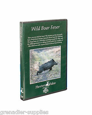 Wild Boar Fever Hunters Video Hunting Dvd