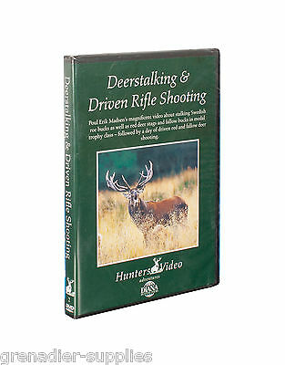 Deerstalking & Driven Rifle Shooting Hunters Video Hunting Dvd