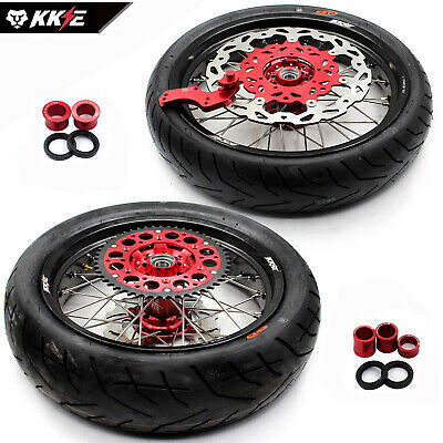 Honda Supermoto Motard Wheel Rims Crf 250R 450R Crf450R  Disc Sprocket Tire Us10