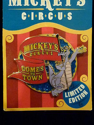 Figment Early Bird Pin *** Mickey's Circus *** Disney Le Only 750