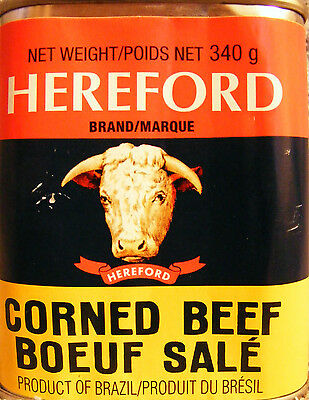 HEREFORD CORNED BEEF - Product of Brazil - SHIPPED FROM CANADA - 340 g