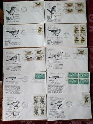 LOT of 20 STAMPED ENVELOPE Collection (1968 - 1969)