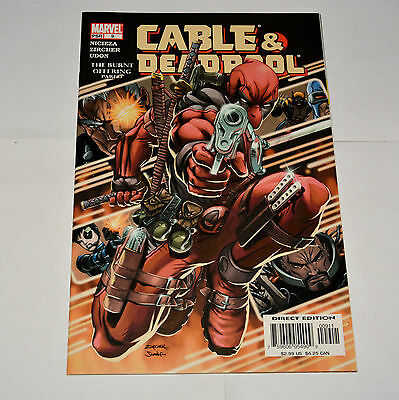Marvel Comic Cable & Deadpool 2005 #9 The Burnt Offering Part 3