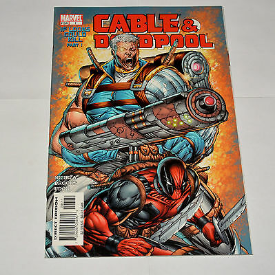 Marvel Comic Cable & Deadpool 2004 #1 If Looks Could Kill Part 1