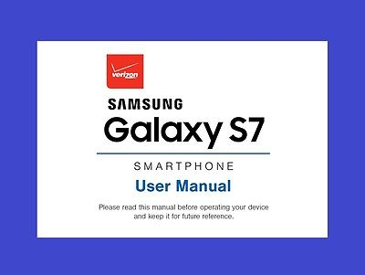 Samsung Galaxy S7 User Manual for Verizon (model SM-G930V)