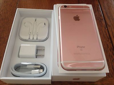 NEW Rose Gold iPhone 6S Plus Factory UNLOCKED TMobile AT&T Straight Talk + WORLD