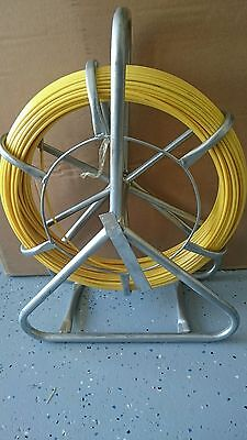 6 mm x 100m FIBRE GLASS RODDER Snake cable puller, NBN, ISGM, FOXTEL Electrical