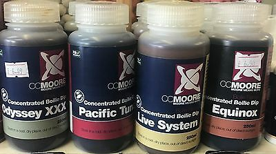 Cc Moore Boilie Dip 250Ml Live System Equinox Pacific Tuna Odyssey Xxx Carp Bait