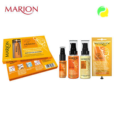 Marion 7 EFFECTS Hair Care Hair Treatments Conditioners With ARGAN OIL