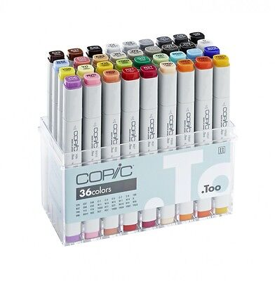 COPIC classic Marker 36er Basis-Set 20075158 Basis Set mit 36 Stiften