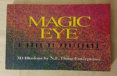 Magic Eye A Book of Postcards 3D Illusions by N.E.Thing Enterprises 29 Postcards