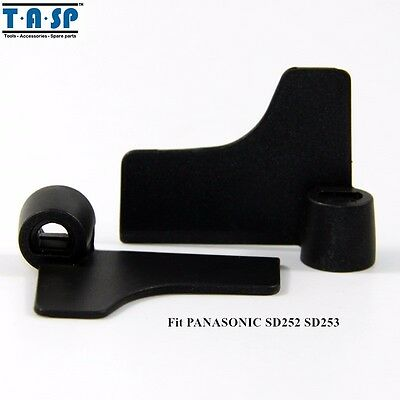 Bread Maker Kneading Blade Paddle Parts for PANASONIC SD252 SD253 SD255 2PC