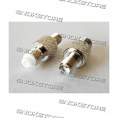 Adattatore Adapter Connettore Rp-Sma Female To Fme Female Straight Jack Coaxial