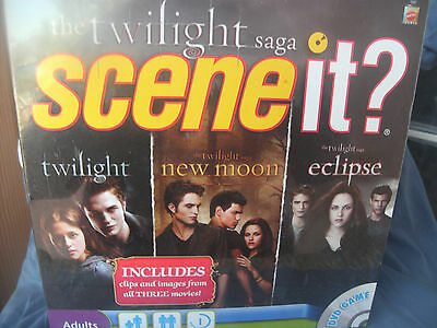 The Twilight Saga Scene It?  New In Package