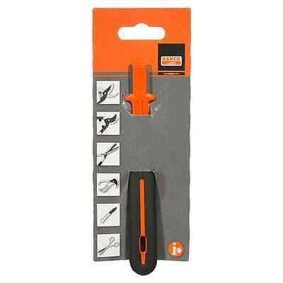 Bahco Professional Carbide Secateur & Garden Lopper Knife Sharpener – Orange