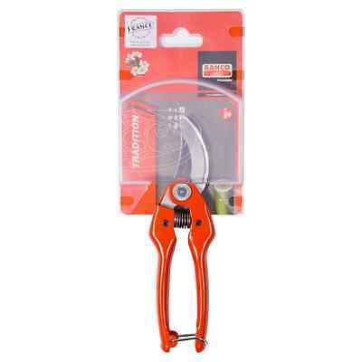 Bahco 15mm Robust Secateur Pruning Shears for General Purpose Gardening