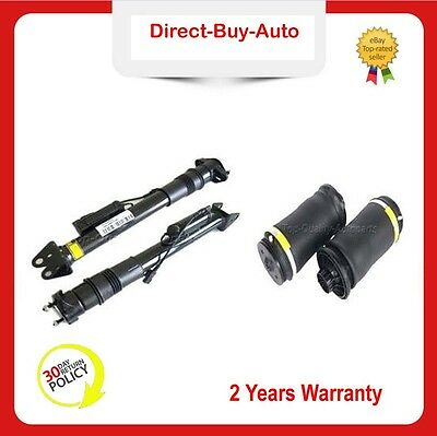 4PCS REAR SHOCK ABSORBER*2+AIR SPRING*2 WITH ADS For MERCEDES ML & GL W/X164