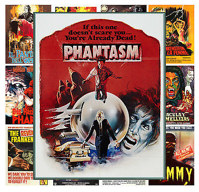 """Mini Posters 13 posters 8/""""x11/""""//A4 Action Thriller Vintage Trash Movie MP464"""