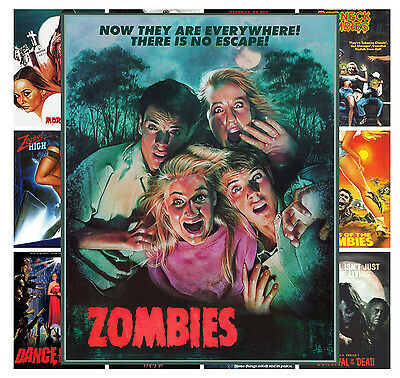 """Mini Posters Space Sci Fi Alien Vintage Trash Movie MP447 13 posters 8/""""x11/""""//A4"""