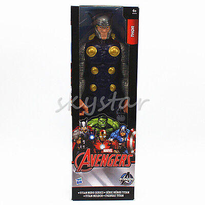 12'' The Avengers Marvel Titan Hero series Thor  Action Figure in box Toy gift