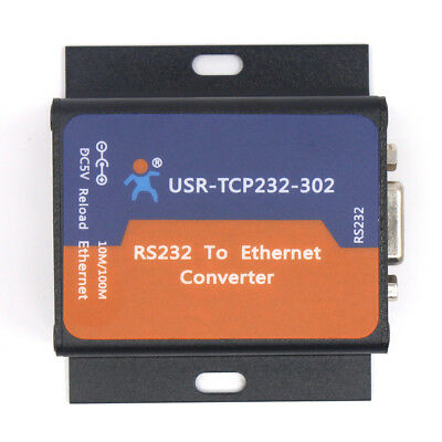 USR-TCP232-302 RS232 to TCPIP/RJ45 Converter Serial to Ethernet Server Module