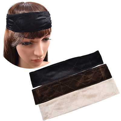 Flexible Velvet Wig Grip Scarf Head Hair Band Wiggery Accesseries Sports New 1Pc