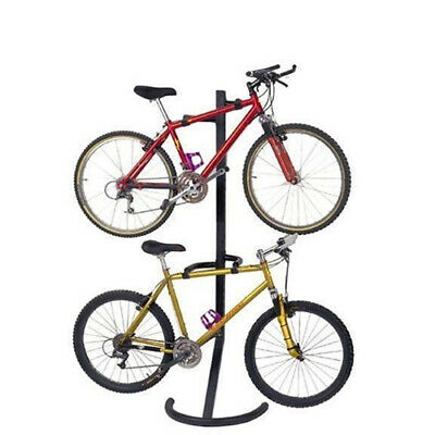 Gravity 2 Bikes Carrier Storage Rack Bicycle Carries Garage Stand
