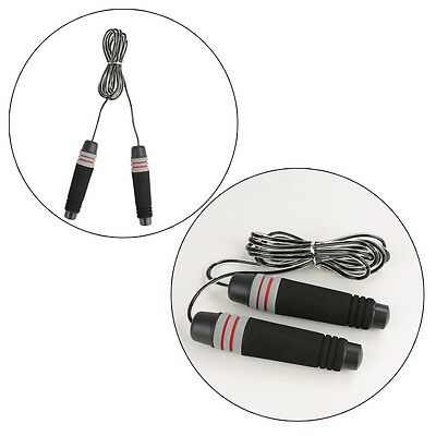 Adjustable Weighted Speed Skipping Gym Boxing Fitness Jump Rope Bearing Swivel