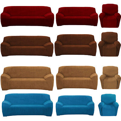 Stretch Sofa Chair Couch Cover Slipcover Seat Protector Super Fit Recliner Cover