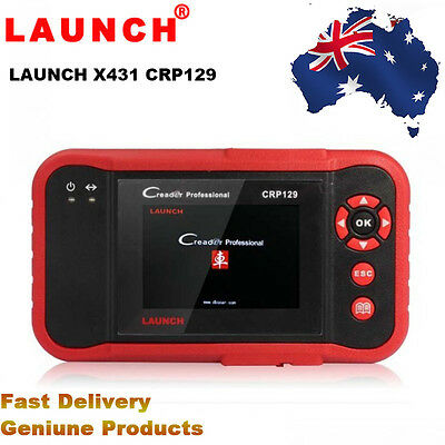 Original Launch CRP129 Launch Creader Professional 129 Code Reader OBD2 Scanner