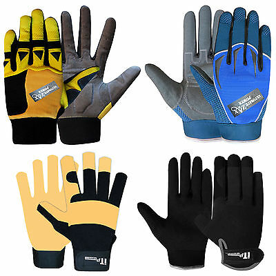 Mechanics Gloves Work Safety Worker Tradesman Working Gardning Gloves MULTI
