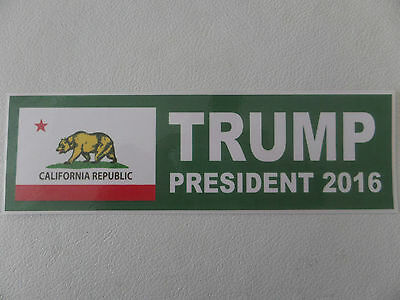 "Donald Trump 2016, California Bear Flag, ""trump President 2016"""