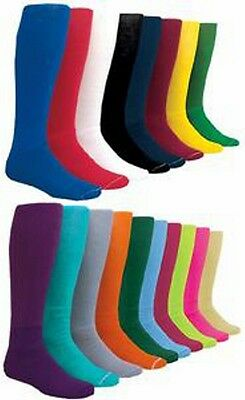 Womens & Mens Medium Solid Color Baseball Socks Sock Size 9-11