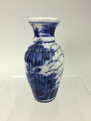 A Perfect Antique Chinese Porcelain Blue & White Small Vase, 19th century
