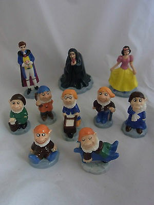 Wade Snow White And The Seven Dwalves Full Set Of 10 Collectors Club