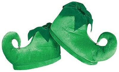 Deluxe Elf Adult Shoes, Green, Rubies