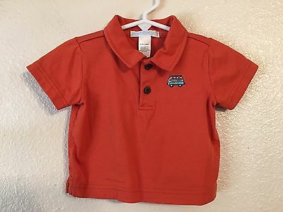 Boy's JANIE And JACK Short Sleeve Polo Shirt (Size: 0-3 Mos.)