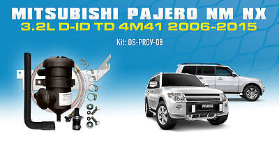 ProVent 200 Oil Catch Can Filter Kit for Mitsubishi Pajero 3.2L DID Pro Vent