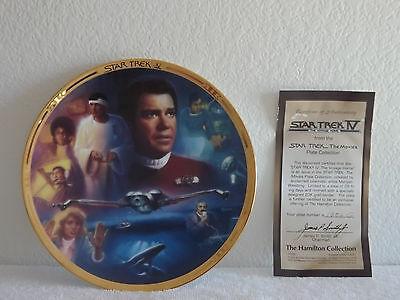 STAR-TREK-IV-The-Voyage-Home-COA-MINT-IN-BOX-Number 1202G