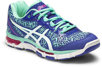 Asics Gel Netburner Pro 12 Womens Netball Shoes (B) (4501) + Free Aus Delivery