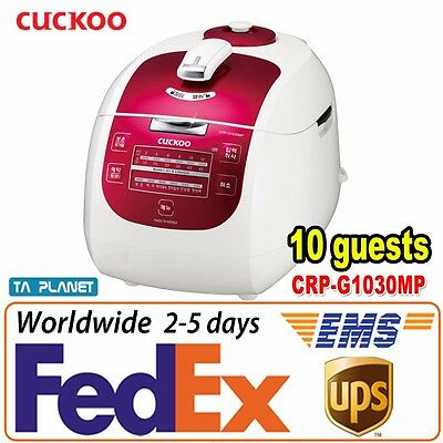 [10 Cups] CUCKOO Korea Best Selling Pressure Rice Cooker CRP-G1030M