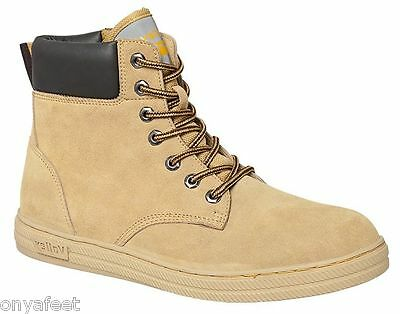 Mens Dunlop Volley Safety Lace Up Boot Work Trade Volleys Men's Shoes