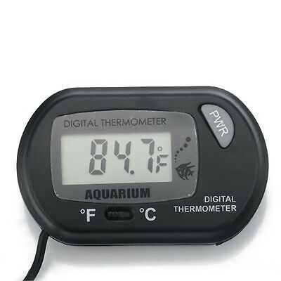 LCD Digital Fish Reptile Aquarium Water Tank Thermometer Temperature Meter