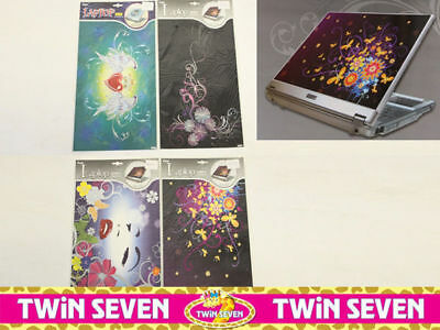 12 x Laptop Covers 4 Designs Peel and Stick reduced to clear Wholesale Lot